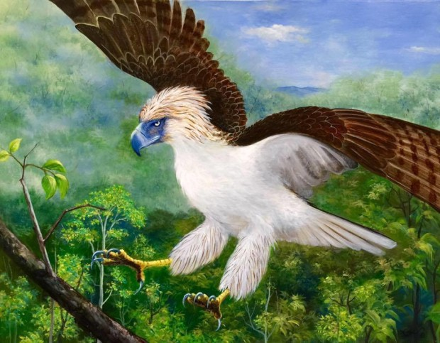 philippine eagle pamana painting reviewed